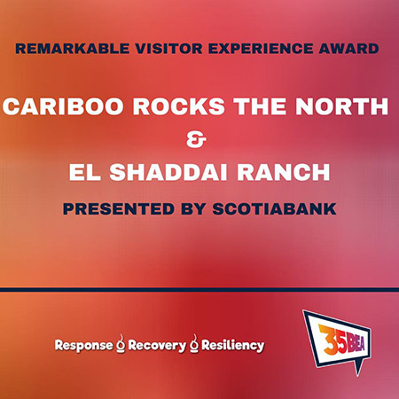 PG Chamber of Commerce Remarkable Visitor Experience Award
